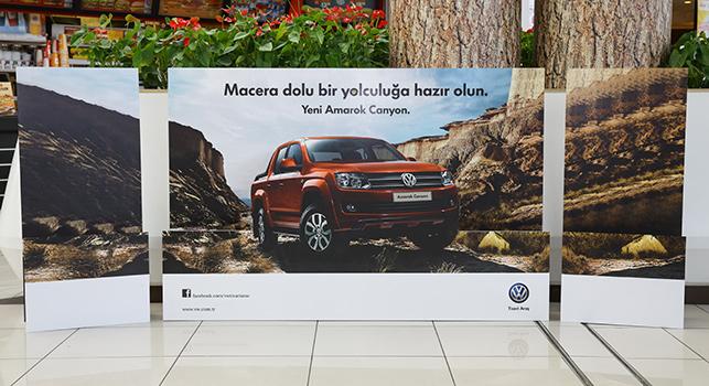 Volkswagen ve Turkcell'den 'beacon' deneyi