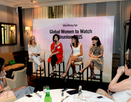 Dünyanın fark yaratan kadınları Cannes'da bir araya geldi