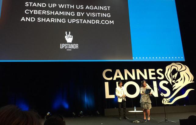 Monica Lewinsky 17 yıldan sonra Cannes Lions'ta açıldı