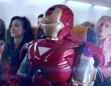 Pegasus, yeni uçuş güvenliği videosuna ikonik Marvel karakterlerini dâhil etti.