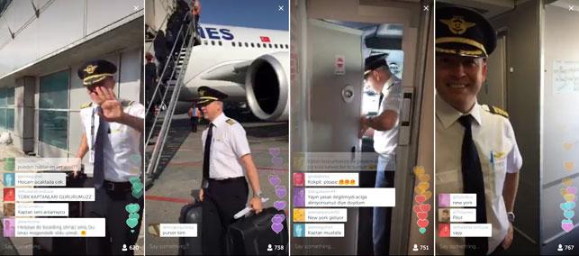 THY, takipçilerini Periscope üzerinden yayınlayacağı seyahate katılmaya çağırıyor.