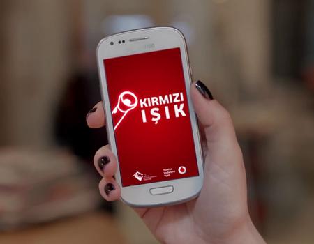 Vodafone Kırmızı Işık projesi yine kısa listede!