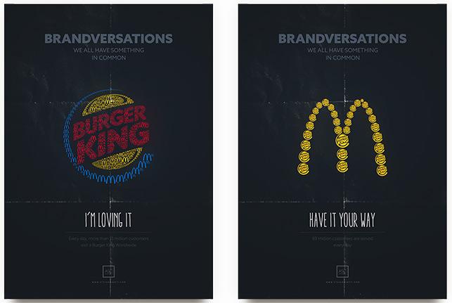 Rekabetten doğan diyalog: Burger King ve McDonald's