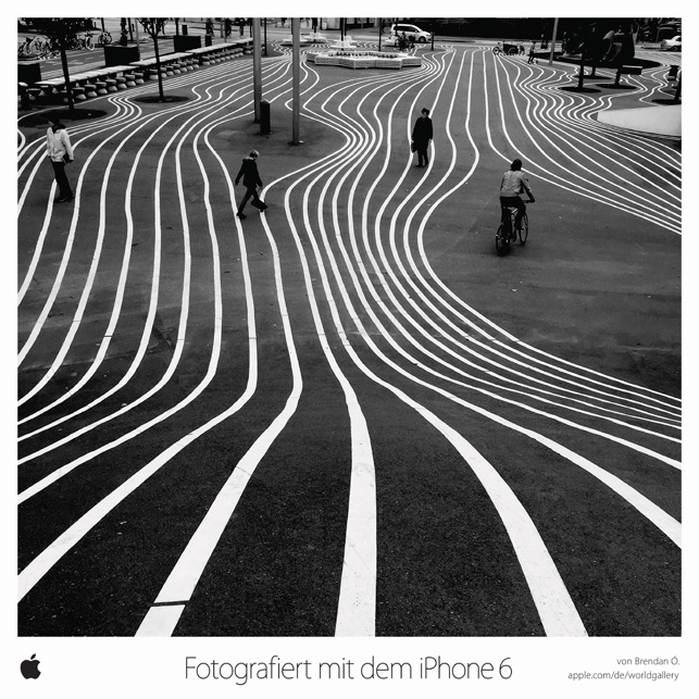 Cannes Lions 2015: iPhone 6 World Gallery, Apple (TBWA\Media Arts Lab Los Angeles / Apple Cupertino)