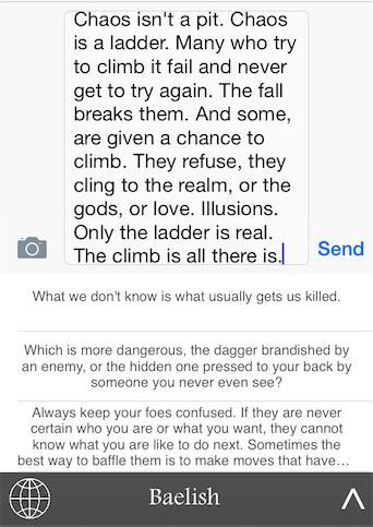 Telefonunuza Game of Thrones bilgeliği kazandıran uygulama