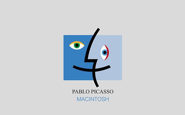 Marka logolarına fırça darbesi: Macintosh