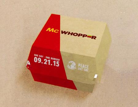 Burger King'den McDonald's'a ateşkes teklifi