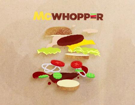 McDonald's 'ın Burger King'e cevabı gecikmedi