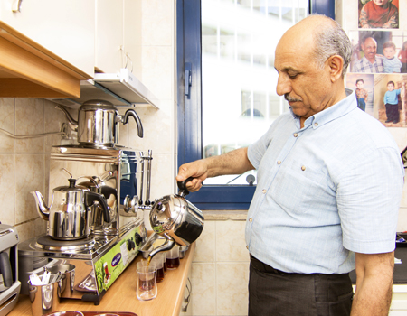 Manajans J. Walter Thompson Turkey çaycısı Selami Karakuş