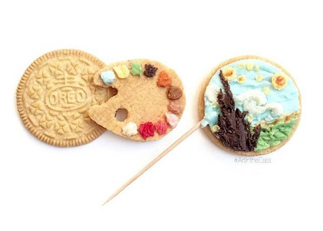 Oreo ile kurabiye sanatı