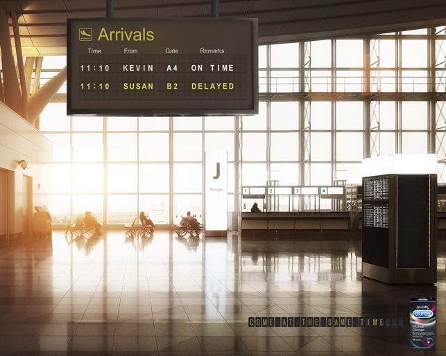 Clio 2015 finalistleri: Durex / Havalimanı