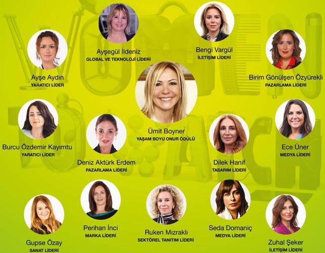 """""""Women to Watch: Fark Yaratan Kadınlar"""" seremonisi bu yıl, başarı hikâyeleriyle örnek olan 14 kadın lideri ağırlıyor."""