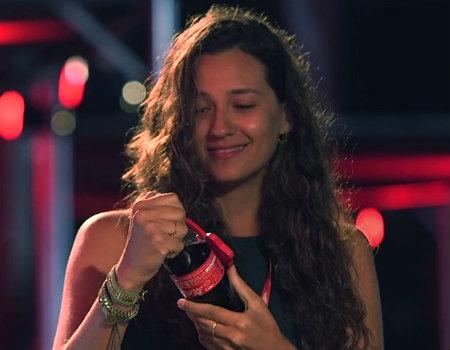 Coca-Cola'dan dilekleri gerçekleştiren şişe