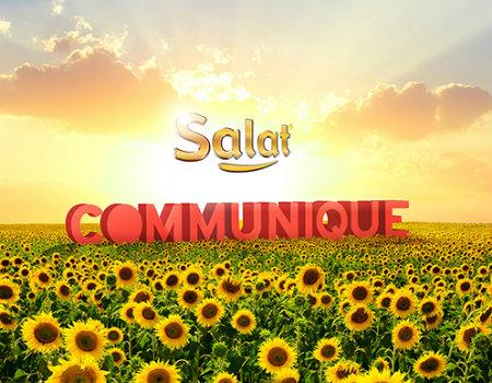 communique salat ile anlaştı