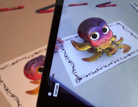 Disney'den boyama kitaplarını artıran teknoloji