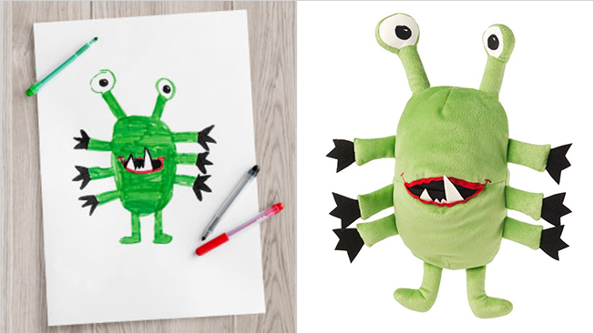 IKEA'nın oyuncakları çocuklardan ilham alıyor.