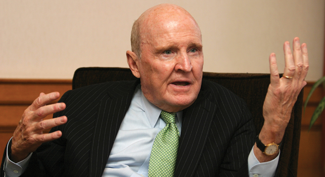 General Electric CEO'su Jack Welch