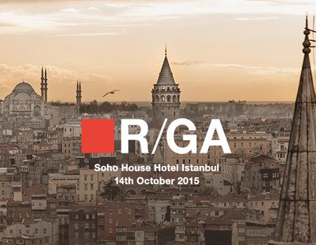 R/GA'dan İstanbul çıkarması