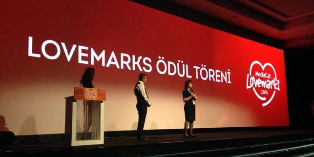 Türkiye'nin en sevilen markaları ödüllerini aldı