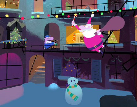 Google'dan interaktif Noel animasyonu