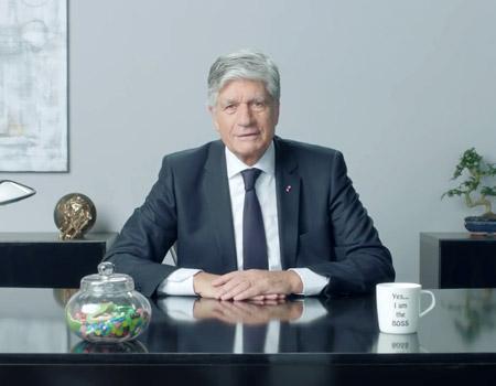 Maurice Lévy'den reklamcı usulü yılbaşı videosu