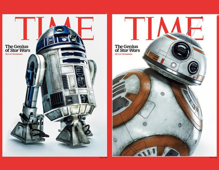 Time'dan 2 nesil için 2 Star Wars kapağı