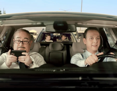 Sabit Bey ve Fikri trafikte mahsur kalırsa...