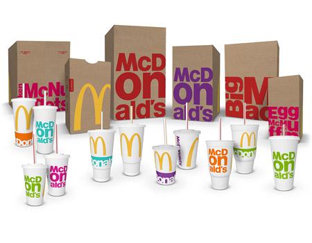 mcdonalds yeni ambalaj