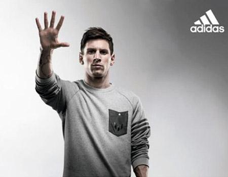 Adidas'tan Messi'ye saygı duruşu