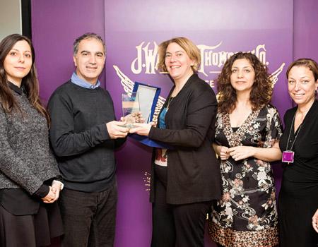 UNICEF'ten Manajans'a anlamlı ödül