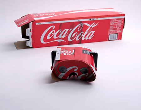 Coca-Cola VR dünyasına ambalajıyla giriyor