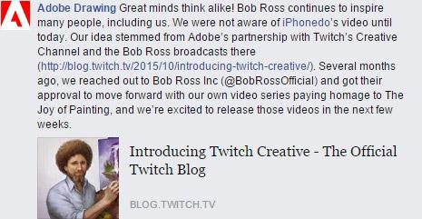 Bob Ross ile fotoşop sevinci