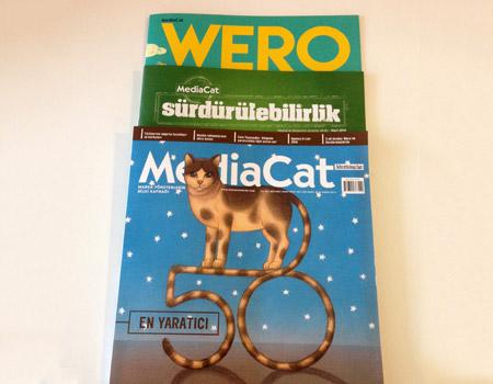 MediaCat Mart sayısıyla bayilerde