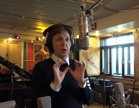 Paul McCartney sevenler için 'emoji'liyor