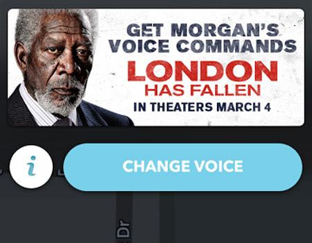 Yol tarifini Morgan Freeman'dan almaz mısınız?