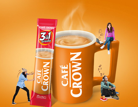 Café Crown en parlak fikirlerinizi bekliyor