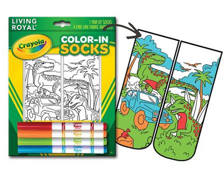 Crayola'dan boyanabilen çoraplar