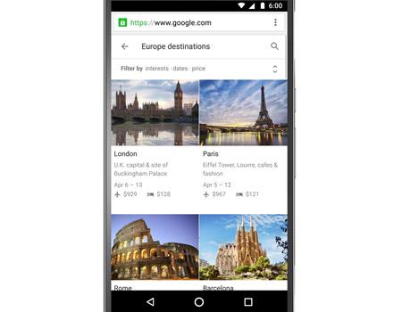 Google tatil planlarınıza talip