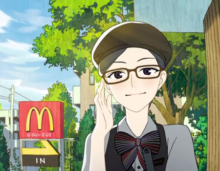 McDonald's'tan müstakbel çalışanları için anime