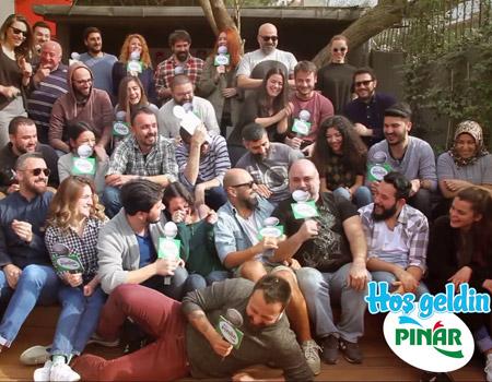 Pınar yeni reklam ajansını seçti