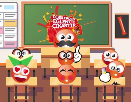 Ülker Çokonat'ın emojileriyle ders başladı