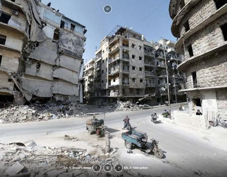 Uluslararası Af Örgütü'nden sanal Suriye gerçekliği