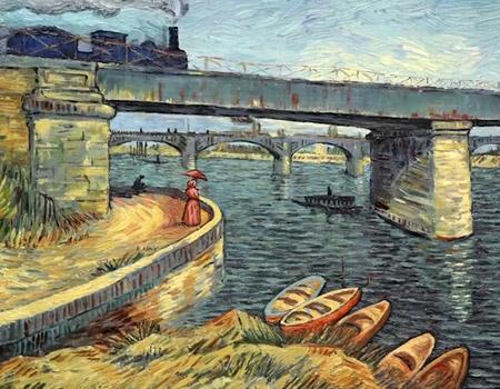 Vincent Van Gogh'u resimlerle sevmek
