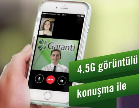 Garanti Bankası'ndan 3X4.5G