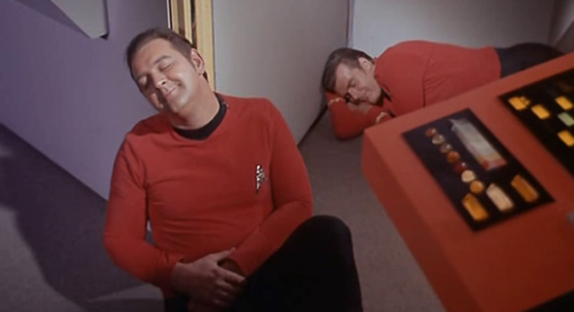 Hedonist red shirts