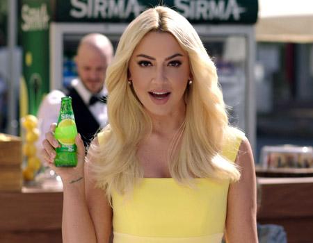 Sırma'nın yeni reklam yüzü Hadise