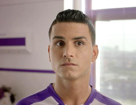 MegaMor'un yeni reklam yüzü Adanalı Ronaldo