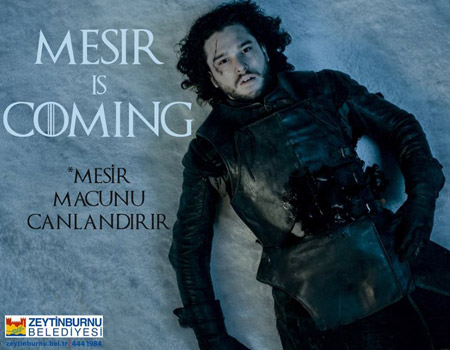 Mesir is coming