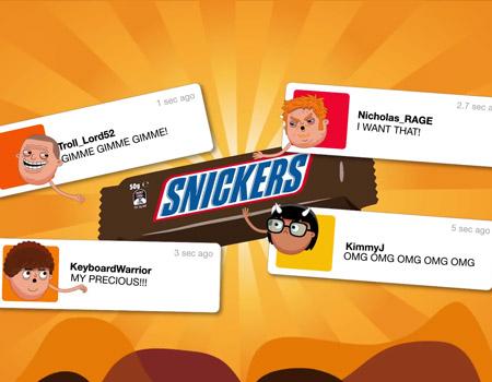 Snickers'tan moraller bozuldukça ucuzlayan çikolata