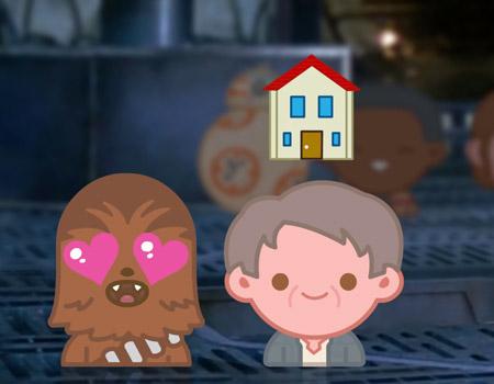 Star Wars'ta güç emojilerle uyanıyor